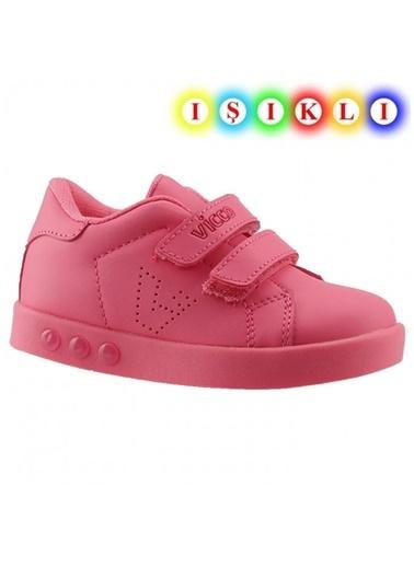Vicco  313.E19K.100 Oyo Işıklı Kız/Erkek Çocuk Spor Ayakkabı Fuşya
